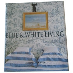 Blue and White Living Hardcover by Stephanie Hoppen