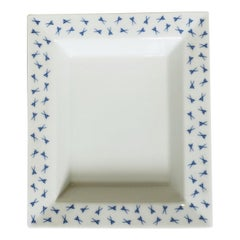 Blue and White Meissen Dish