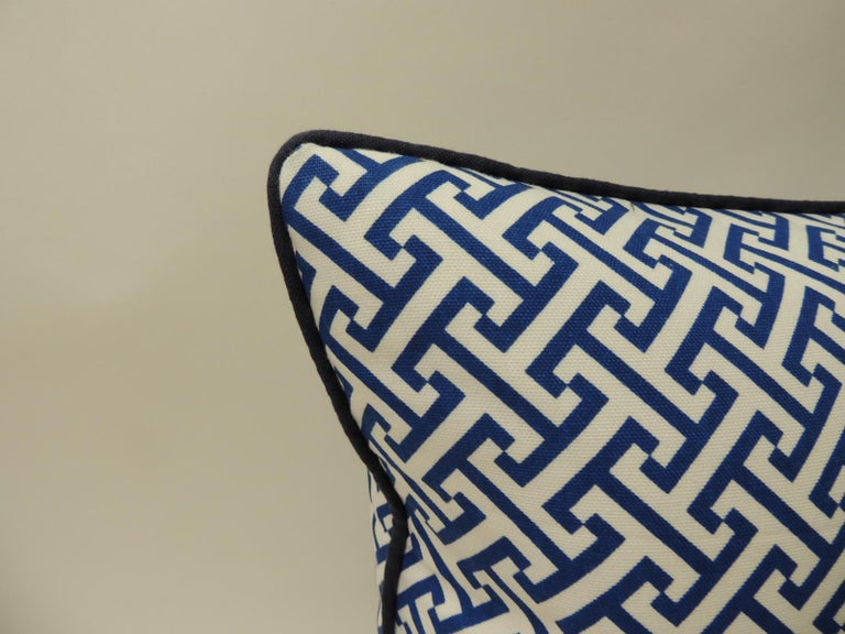 Hand-Crafted Blue and White