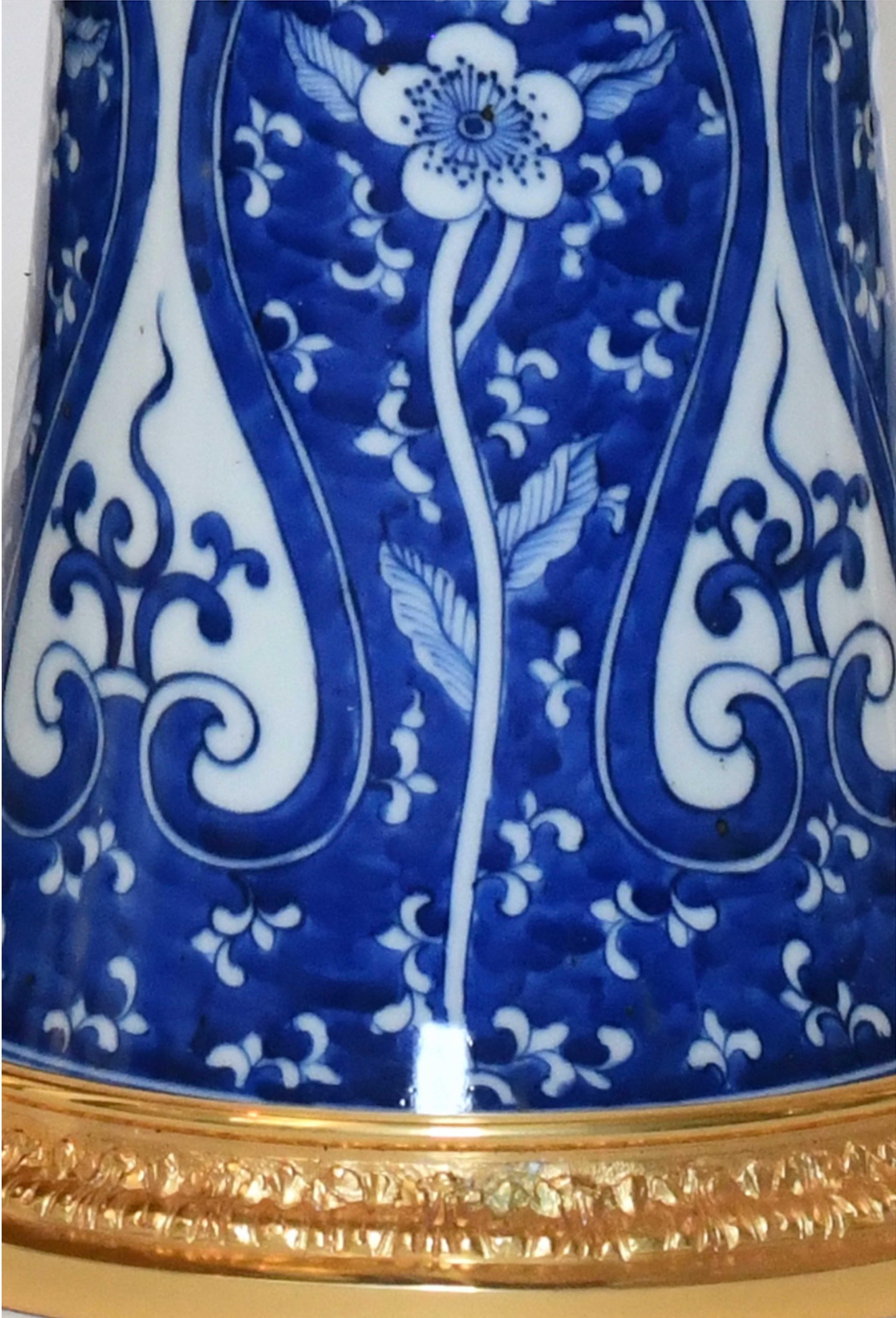 Picture of: Blue And White Porcelain Lamps For Sale At 1stdibs