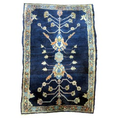 Blue Antique Mohajeran Persian Sarouk Rug