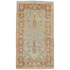 Blue Antique Persian Malayer Rug