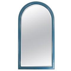 Blue Arch Wall Mirror