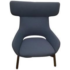 Blue Artifort Kalm Lounge Chair by Patrick Norguet