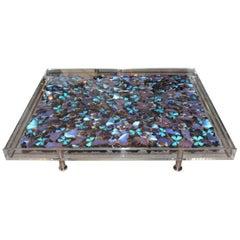 Blue Butterflies Coffee Table