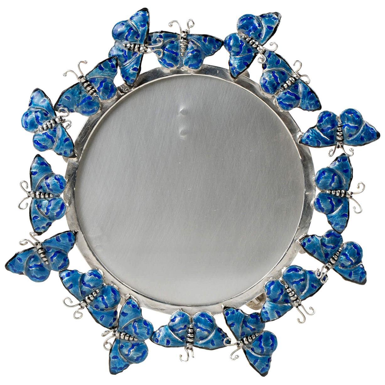 Blue Butterflies Frame