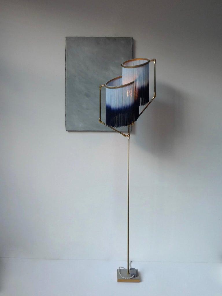 Post-Modern Blue Charme Floor Lamp, Sander Bottinga For Sale