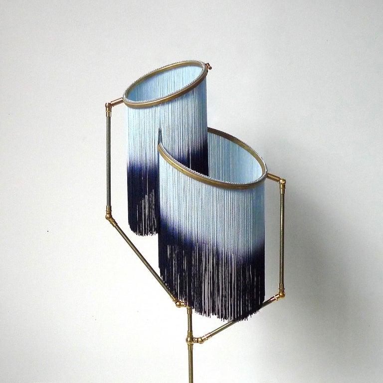 Blue Charme Floor Lamp, Sander Bottinga For Sale 1