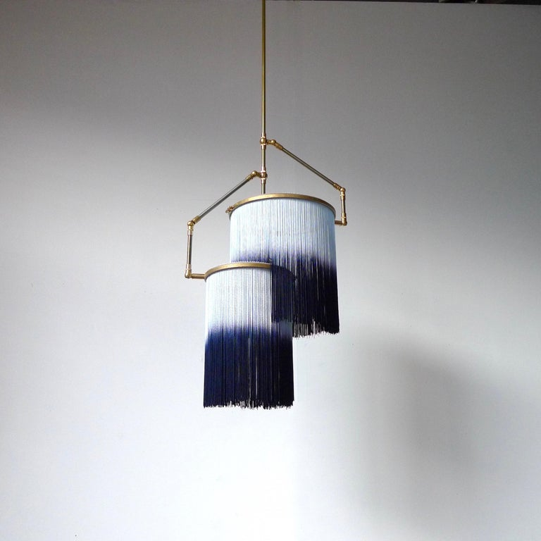 Blue Charme Pendant Lamp, Sander Bottinga