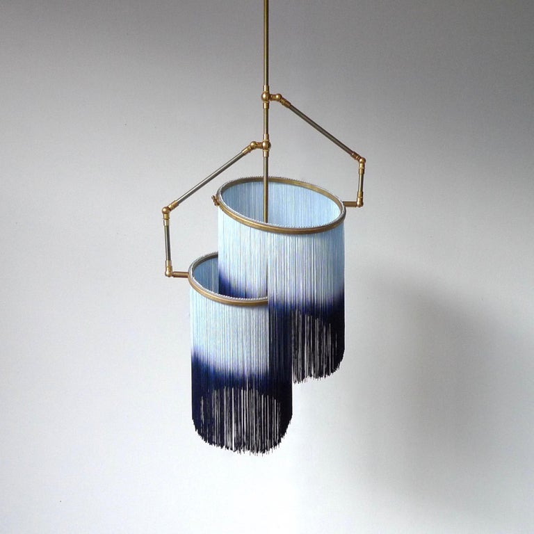 Post-Modern Blue Charme Pendant Lamp, Sander Bottinga For Sale
