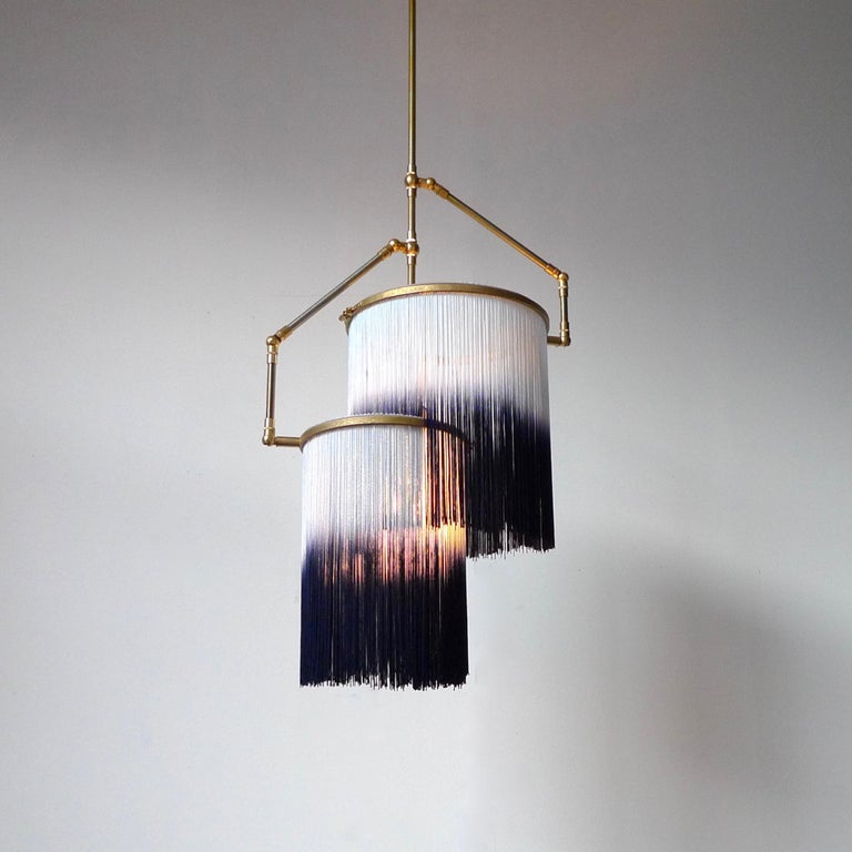 Dutch Blue Charme Pendant Lamp, Sander Bottinga For Sale