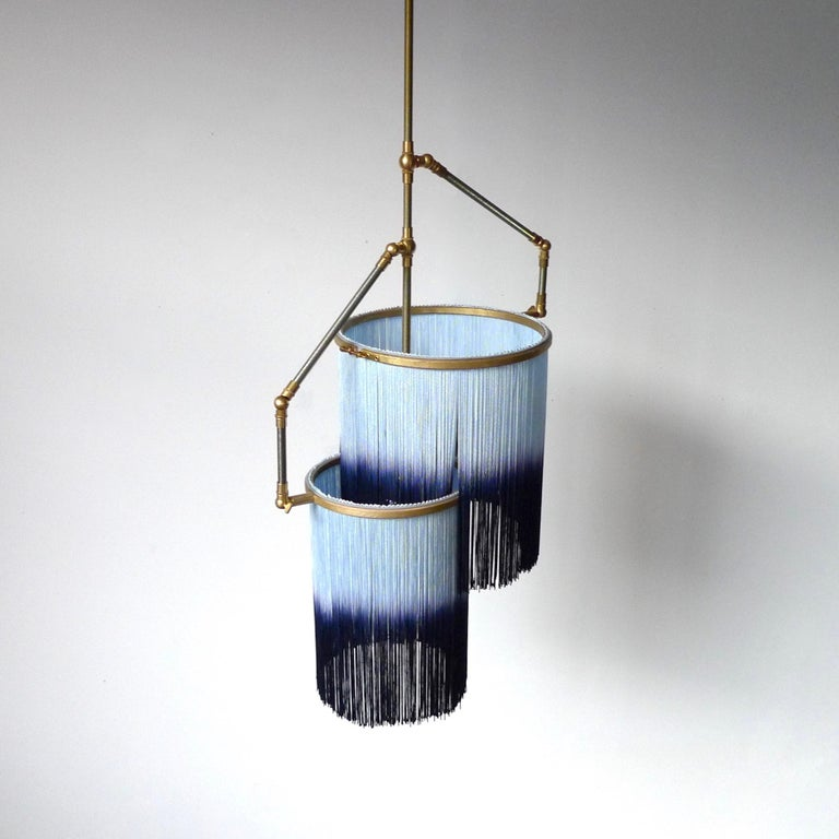 Blue Charme Pendant Lamp, Sander Bottinga In New Condition For Sale In Collonge Bellerive, Geneve, CH