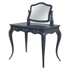 Blue Coiffeuse Louis XV