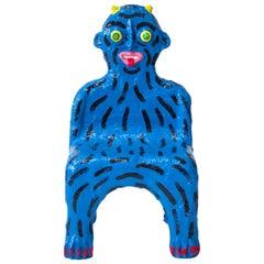 Blue Creature Child Chair by Brett Douglas Hunter, USA, 2018