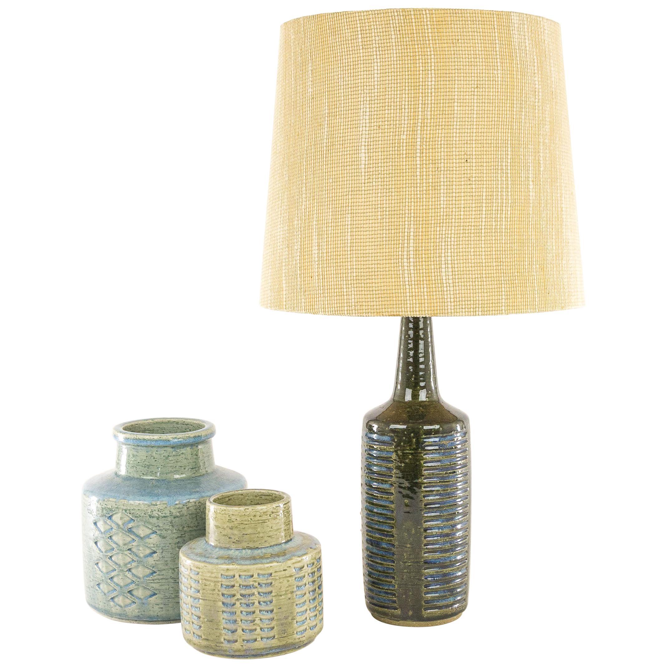 Blue DL/30 Table Lamp by Annelise and Per Linnemann-Schmidt, 1960s