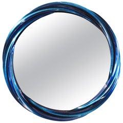 Blue Jade Wave II series Mirror Floor Sample