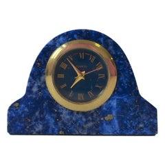 Blue Lapis Lazuli Clock