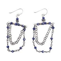 Blue Lapis Windu Earrings