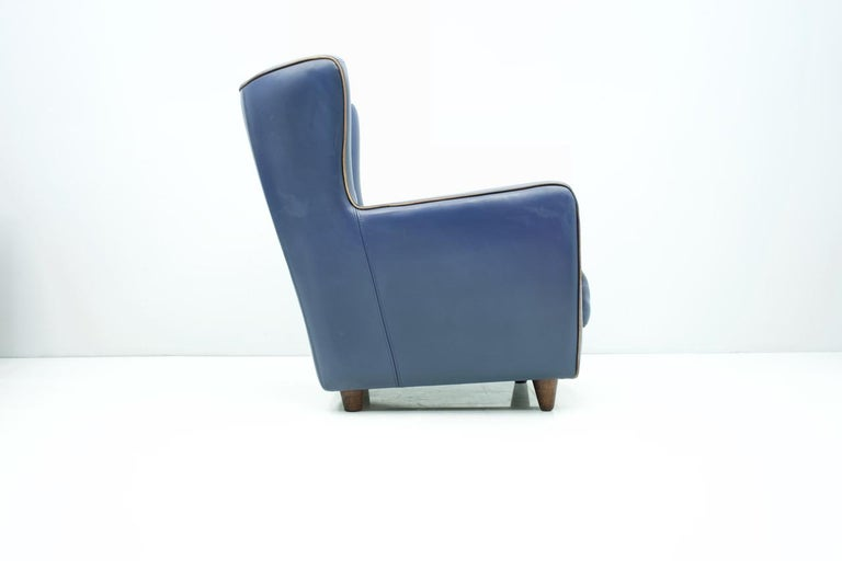 High-qualitylounge chair by P. Baxter for Baxter Italy Model Bergére, Design 1994.  Very comfortable armchair with beautiful details. Very high-quality processed. Good to very good condition  3 identical lounge chairs are available.