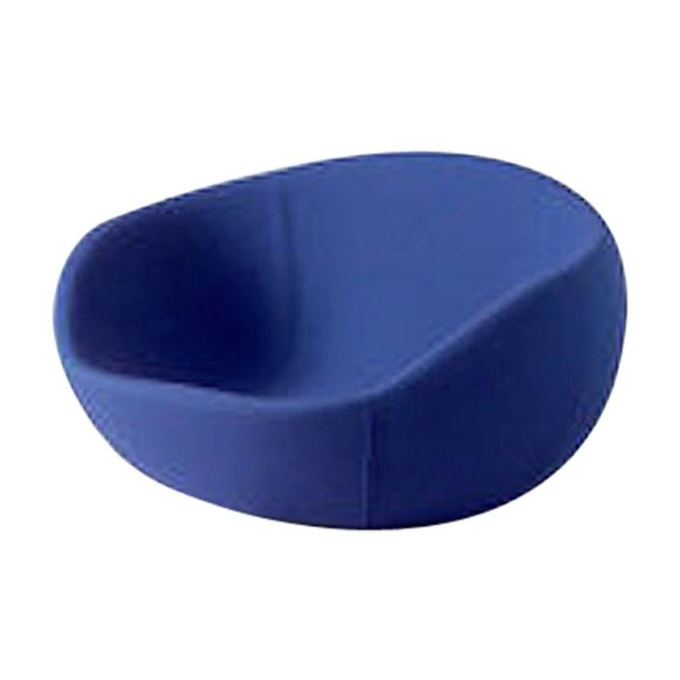 Blue Modern Egg Shaped Rocking Chair for Children For Sale