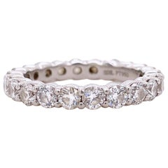 Blue Nile Round Diamond 2.07 Carat Full Circle Eternity Band in Platinum