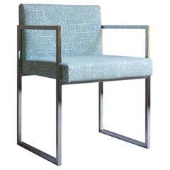Blue Paris Outdoor Chair by Gianna Farina & Marco Gorini