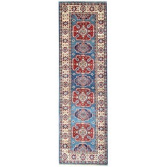 Blue Persian Runner, Carpet Runners, Persian Rugs Style, Kazak Rug Runner