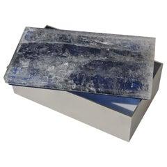 Blue Quartz Brass Box