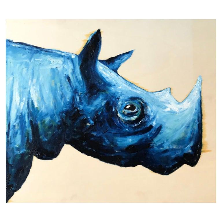 Blue Rhinoceros For Sale