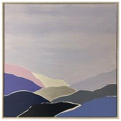 """Blue Ridge"" Original Abstract Painting"