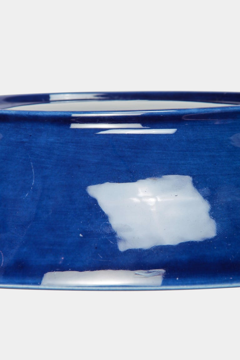 Mid-20th Century Blue Rörstrand Bowl 1950s For Sale
