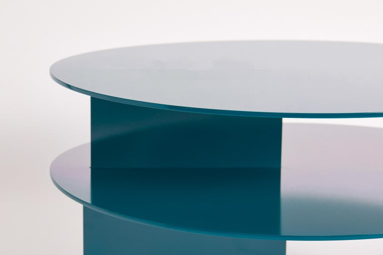 Blue Sanora Coffee Table by Ben Barber Studio For Sale 4
