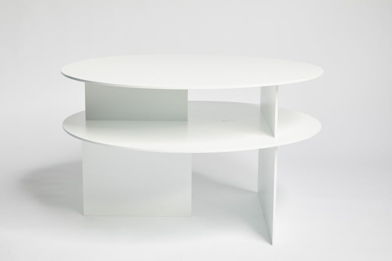Blue Sanora Coffee Table by Ben Barber Studio For Sale 5