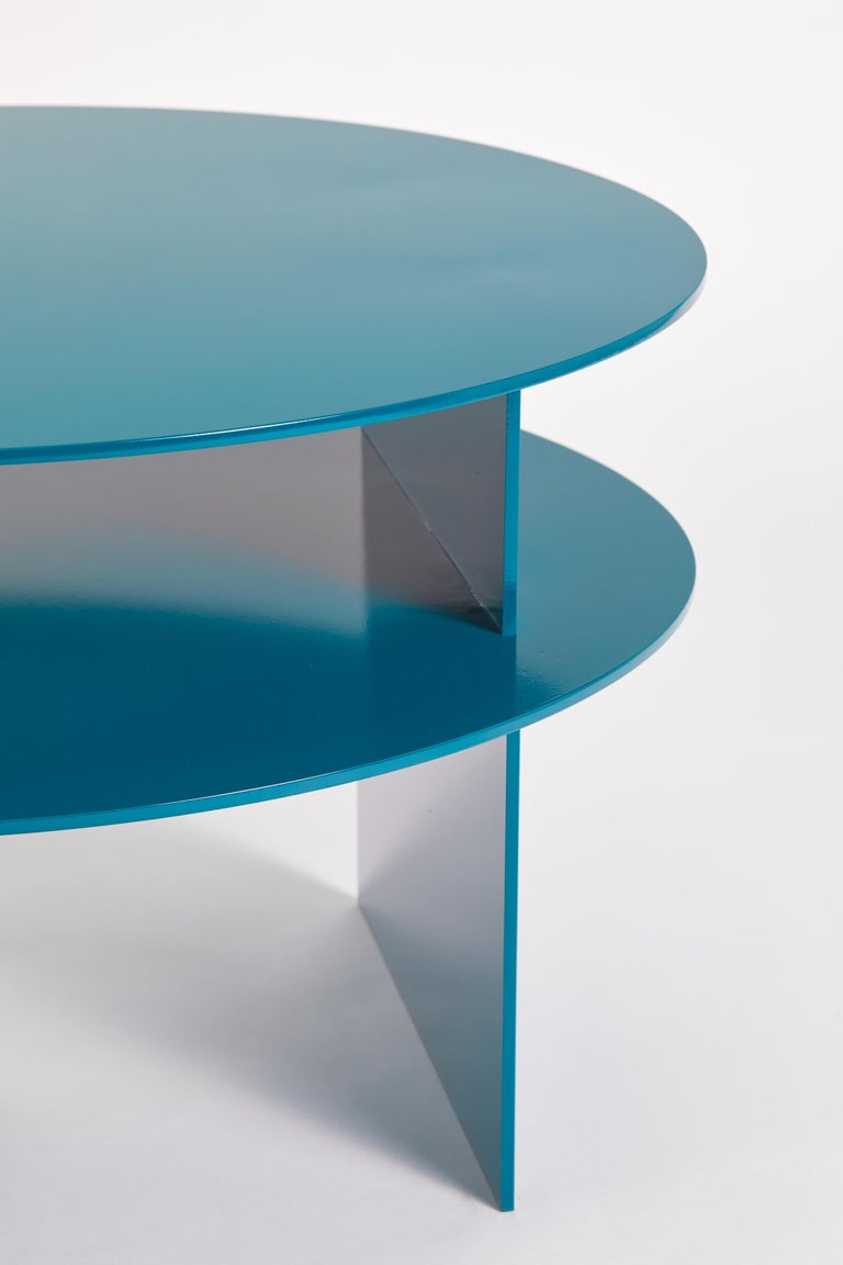 Blue Sanora Coffee Table by Ben Barber Studio For Sale 6