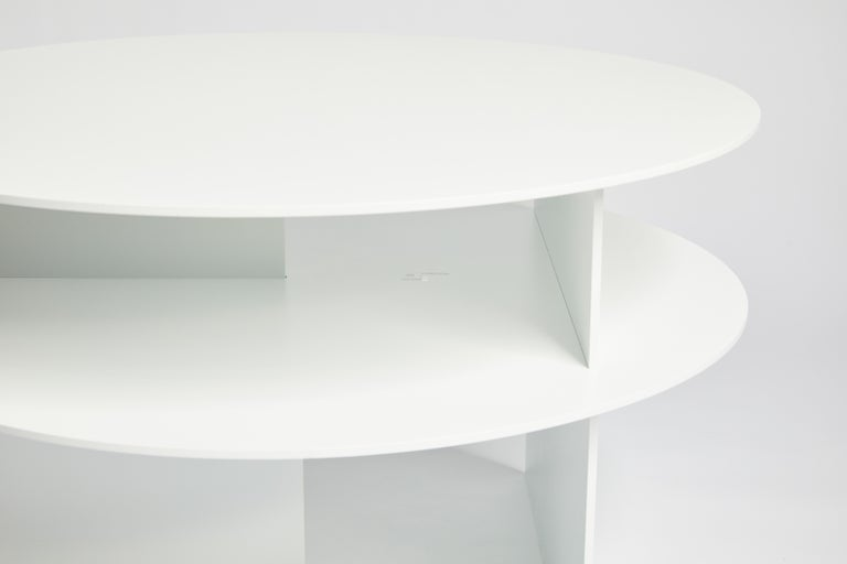 Blue Sanora Coffee Table by Ben Barber Studio For Sale 8