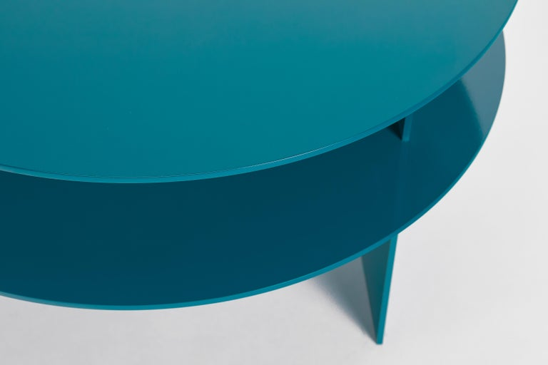Blue Sanora Coffee Table by Ben Barber Studio For Sale 1