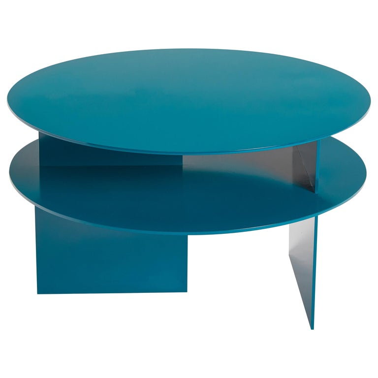 Blue Sanora Coffee Table by Ben Barber Studio For Sale
