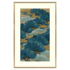 Blue Series I Japanese Print by Curated Kravet