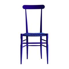 Blue Solferino Paracord Chair by Collezione Milano