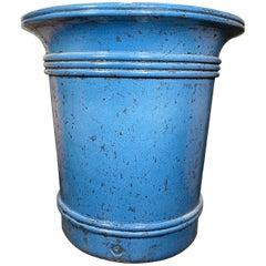 Blue Terracotta Urn
