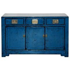 Blue Tianjin Sideboard