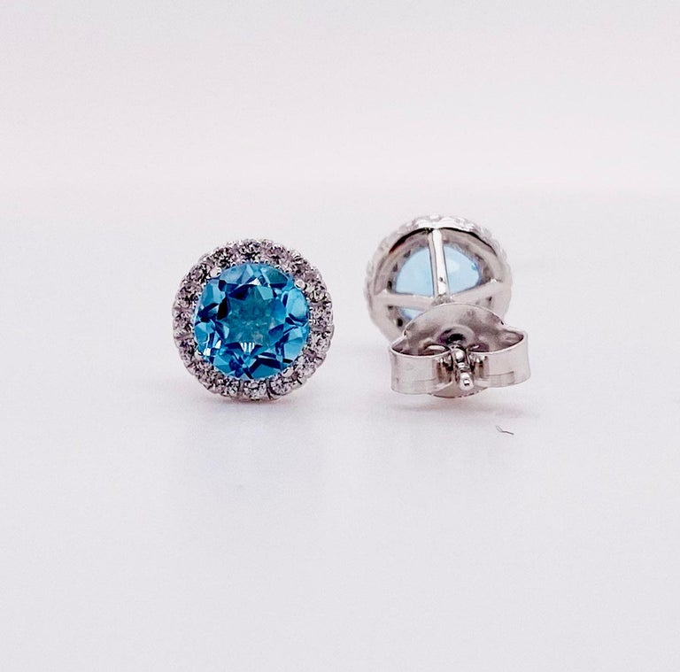 The details for these gorgeous earrings are listed below: Metal Quality: Sterling Silver  Earring Type: Stud  Diamond Number: 18  Diamond Total Weight: .10 carats Diamond Clarity: VS2 (excellent, eye clean) Diamond Color: G (excellent, near