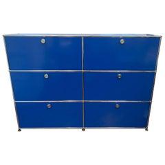 Blue USM Storage Unit