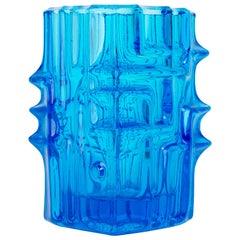 Blue Vase by Vladislav Urban for Sklo Union, 20th Century, Europe, 1960s