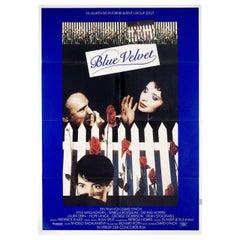 Blue Velvet 1986 German A1 Film Poster