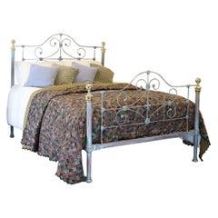 Blue Verdigris Antique Bed MK193