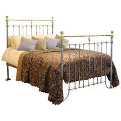 Blue Verdigris Antique Bed MK194