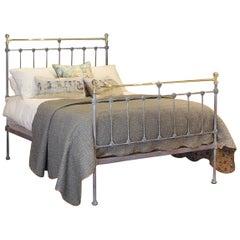 Blue Verdigris Double Antique Bed, MD93