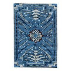 Blue Viennese Design Rug