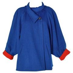 Blue wool jacket Chloé